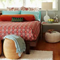 Oosterse slaapkamer